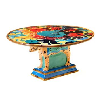 Tracy Porter Magpie 3D Leopard Cake Stand