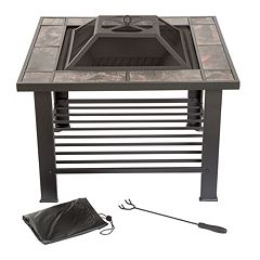 Navarro 30' Square Table Fire Pit