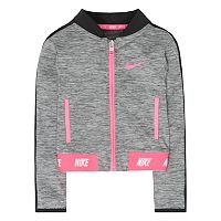 Girls 4-6x Nike Sport Essentials Heathered Zip-Up Jacket