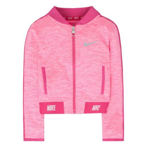 Girls 4-6x Nike Sport Essentials Heathered Zip-Up Jacket