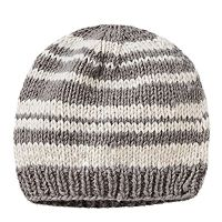 Women's SIJJL Striped Wool Beanie
