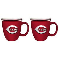 Boelter Cincinnati Reds Bistro Mug Set