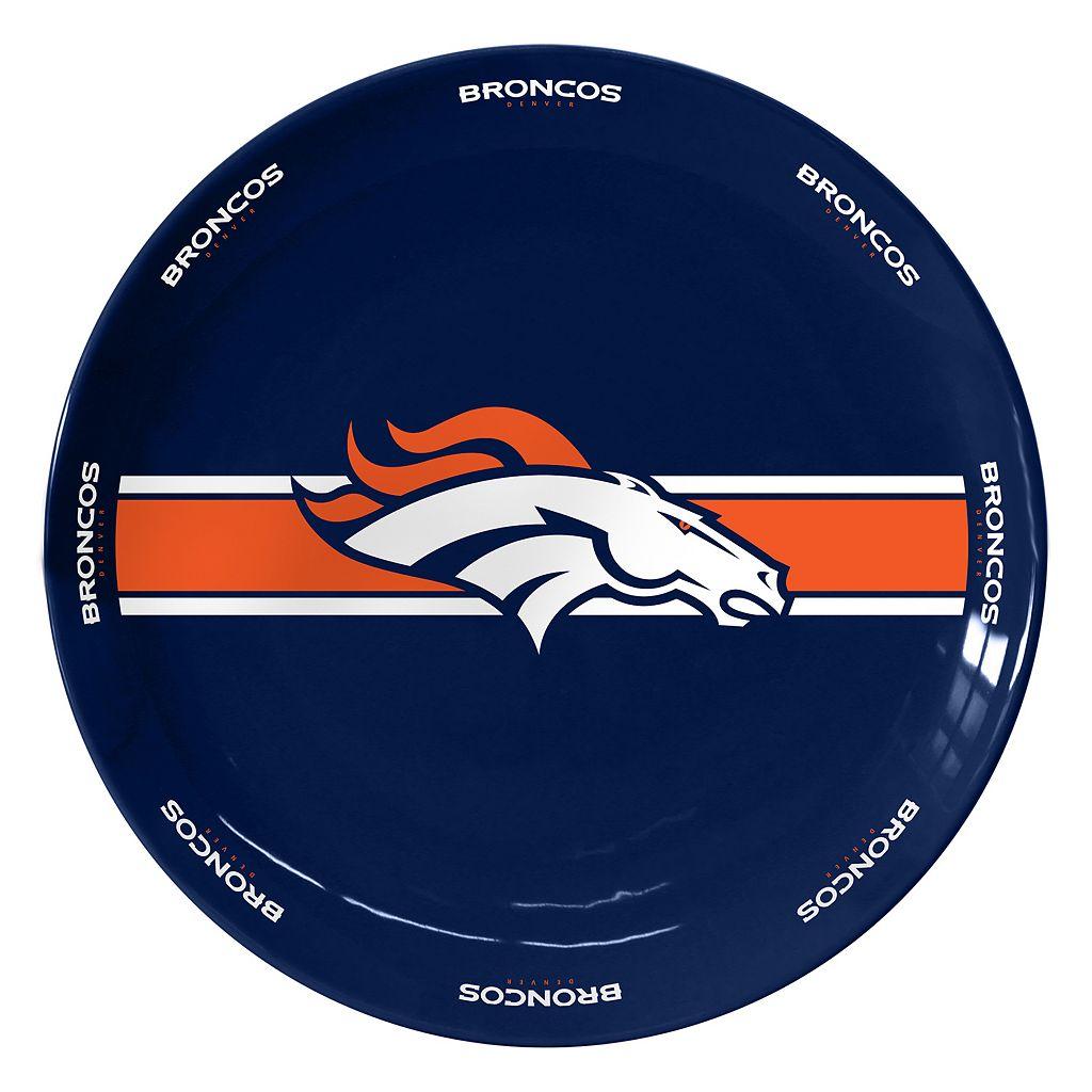 Boelter Denver Broncos Serving Plate