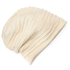 Women's SIJJL Wool Ribbed Beanie