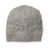 Women's SIJJL Wool Cable-Knit Floral Beanie