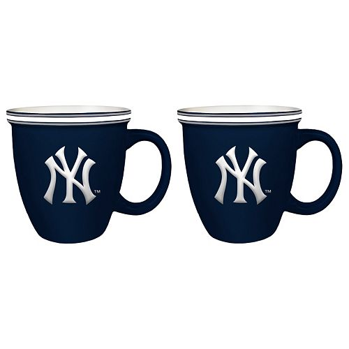 Boelter New York Yankees Bistro Mug Set