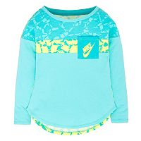 Girls 4-6x Nike Colorblocked High-Low Pocket Tee