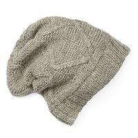 Women's SIJJL Wool Slouchy Knit Beanie