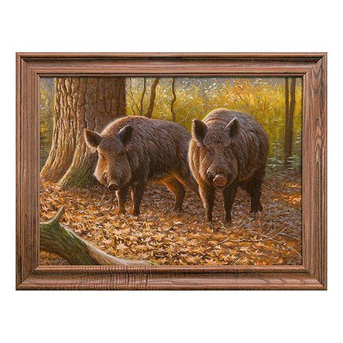Reflective Art Tusken Raiders Framed Wall Art