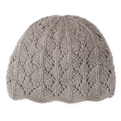 Women's SIJJL Wool Scalloped Beanie