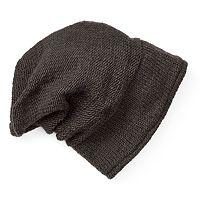 Women's SIJJL Wool Knit Slouchy Beanie