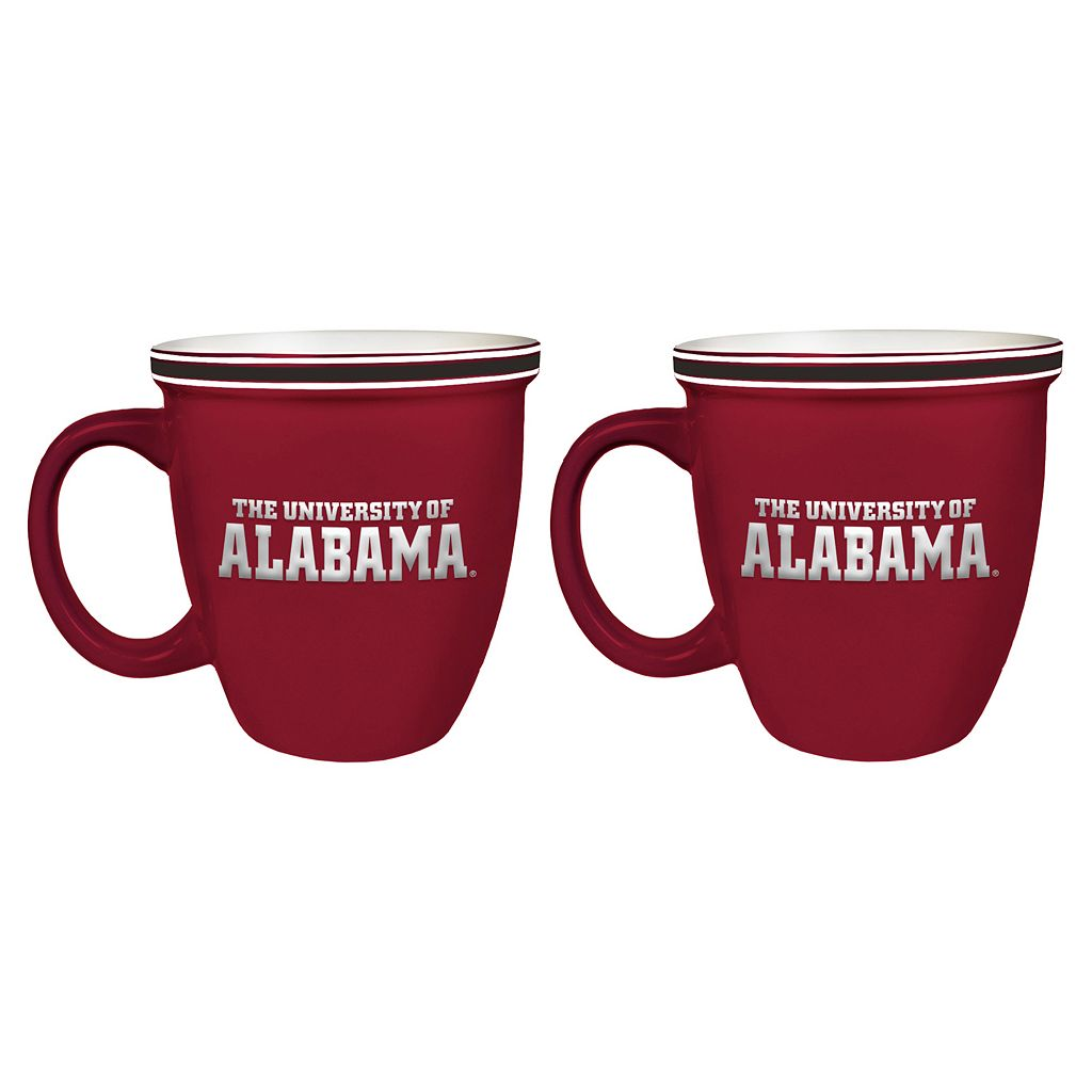 Boelter Alabama Crimson Tide Bistro Mug Set