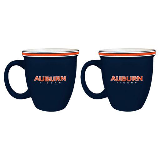 Boelter Auburn Tigers Bistro Mug Set