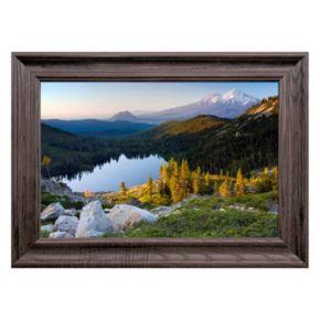 Reflective Art Rugged Reflections Framed Wall Art