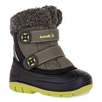 Kamik Clover Toddler Boys' Waterproof Winter Boots