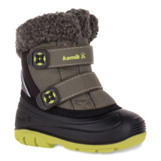 Kamik Clover Toddler Boys' Waterproof Winter Boots