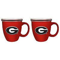 Boelter Georgia Bulldogs Bistro Mug Set
