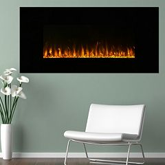 Northwest 42' LED Fire & Ice Electric Fireplace & Remote