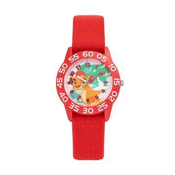 Disney's The Lion Guard Kion Kids' Time Teacher Watch