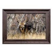 Reflective Art In The Thick Of It Framed Wall Art