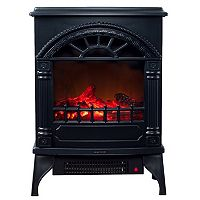 Northwest Free Standing Electric Log Fireplace
