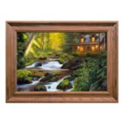 Reflective Art Creekside Comfort Framed Wall Art