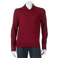 Men's Apt. 9® Modern-Fit Marled Merino Shawl-Collar Sweater