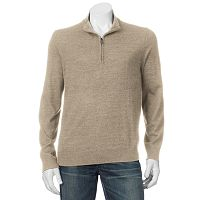 Men's Apt. 9® Modern-Fit Merino Wool-Blend Quarter-Zip Sweater