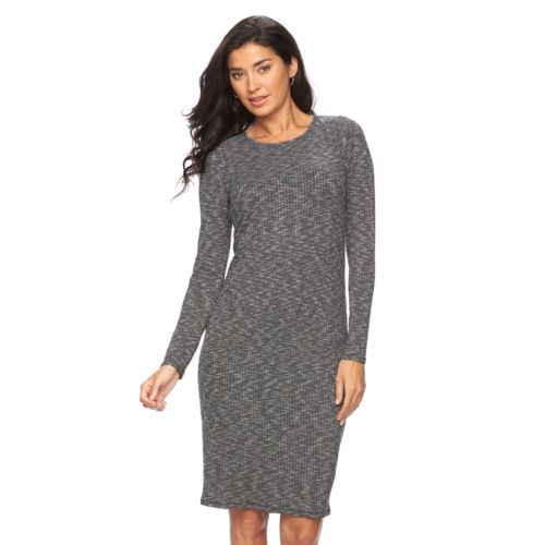 Women's Apt. 9® Ribbed Midi Dress