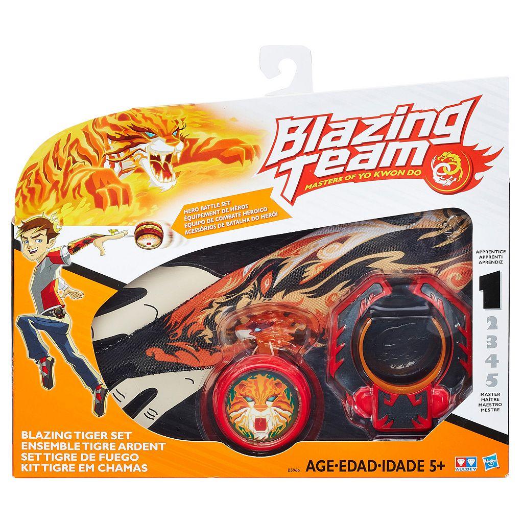 Blazing Team Blazing Tiger Set
