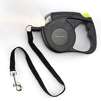 Protocol Retractable Dog Leash with Flashlight