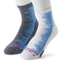 Men's adidas 2-pack Frequency ClimaLite High Quarter Socks