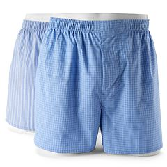 Big & Tall Hanes Classics 2-pack Pima Stretch Boxers