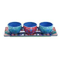 Tracy Porter Reverie 4 pc Dip Bowl Serving Set