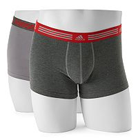 Men's adidas 2-pack climalite Athletic Stretch Trunks
