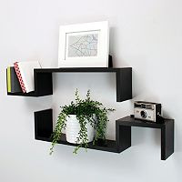 Nexxt Sila Wall Shelf 2-piece Set
