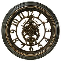 Kiera Grace Gears Wall Clock
