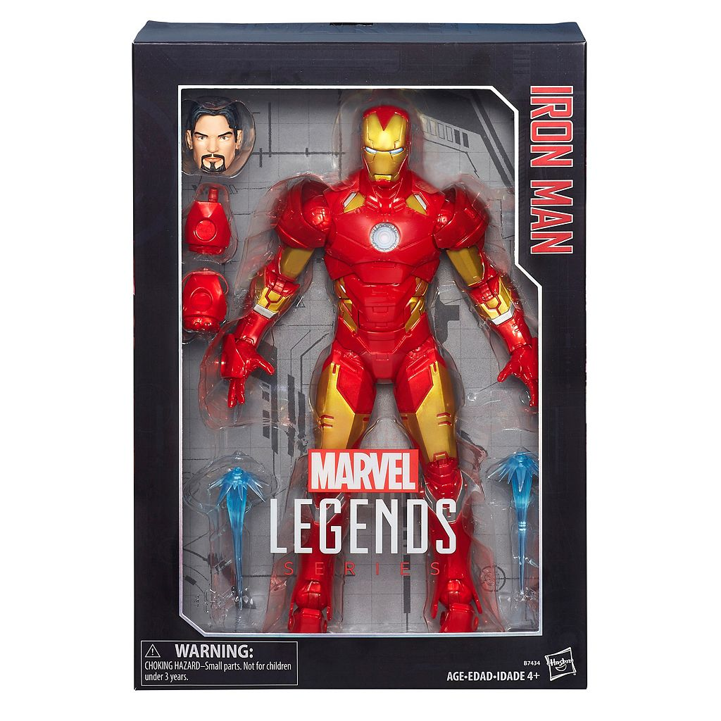 Marvel Legends Series 12-in. Iron Man Figure by Hasbro
