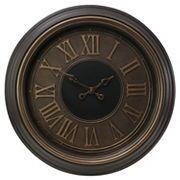 Kiera Grace Genoa Antiqued Wall Clock