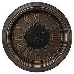 Kiera Grace Genoa Antiqued Wall Clock