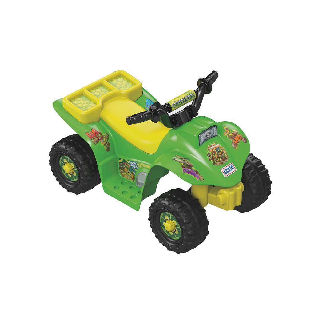 Power Wheels Teenage Mutant Ninja Turtles Lil' Quad Ride-On by Fisher-Price