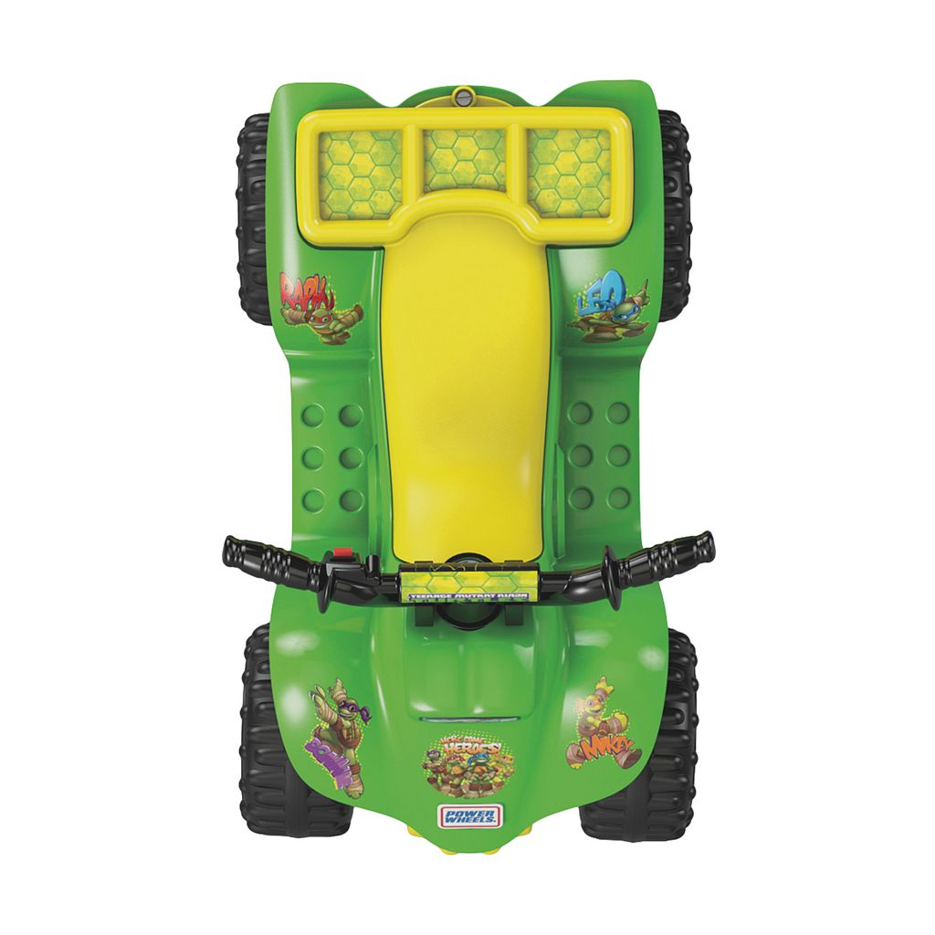 Power Wheels Teenage Mutant Ninja Turtles Lil' Quad Ride-On by Fisher-Price