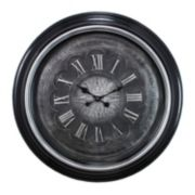 Kiera Grace Genoa Brushed Wall Clock