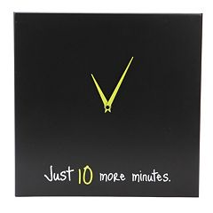 Nexxt 'Just 10 More Minutes' Wall Clock