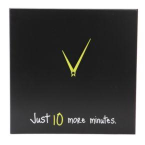 "Nexxt ""Just 10 More Minutes"" Wall Clock"