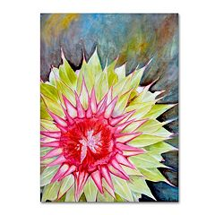 Trademark Fine Art Thistle Canvas Wall Art