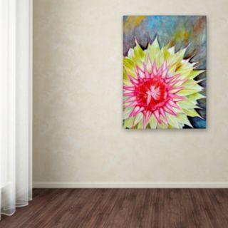 Trademark Fine Art Thistle Canvas Wall Art