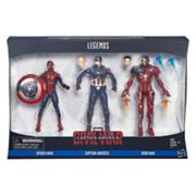 Captain America: Civil War Marvel Legends 3 pkFigures by Hasbro