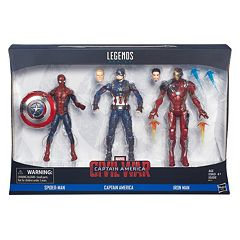 Captain America: Civil War Marvel Legends 3-pk. Figures by Hasbro