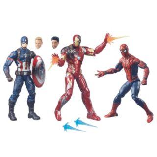 Captain America: Civil War Marvel Legends 3-pk. Figures by Hasbro
